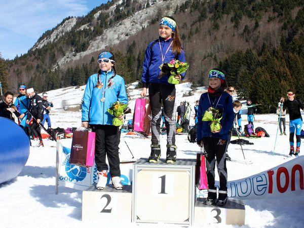 Isana (U10), Chloé (U12), Marion (U14), Zélie et Maya (U16), Adrien(U16). Manque Antonin (U12)
