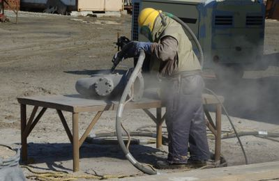 What Is Volatile Dust and How Can Vapor Blasting Help?