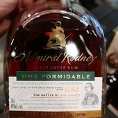 Admiral Rodney - HMS Formidable - Passion du Whisky