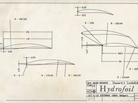 1987 - Prix spécial du Jury - Concours Général Electric - Hydrofoil Searocket - Inventer une pièce qui améliore un sport