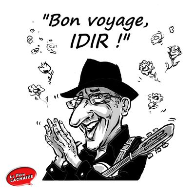 """Bon voyage Idir !"""