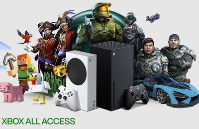 #GAMING - Xbox All Access - Votre XBOX next gen à partir de 24,99 € par mois avec #FNAC et #Micromania !