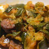 Courgettes chorizo recette cookeo |