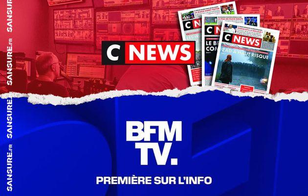 CNews sur le point de doubler BFMTV en audience ! #CNEWS