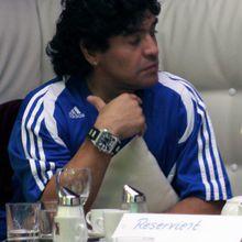 """Maradona se declara """"hincha número uno de Palestina"""" y anima a Chavéz en su recuperación"""