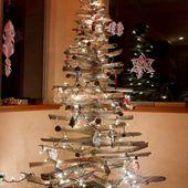 Sapin de Noël en bois Flotté et design à faire soi-même