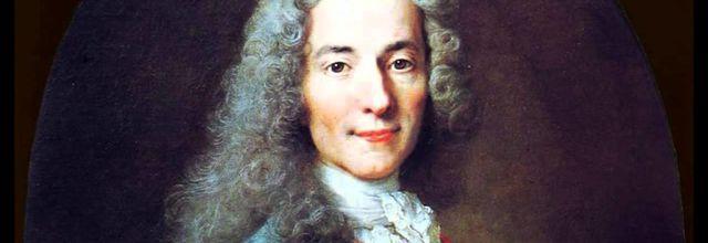 Voltaire, le symbole de la liberté de penser.