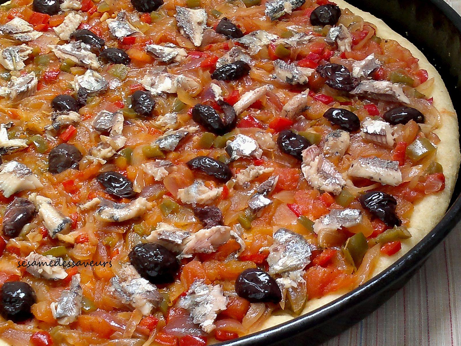 Pizza estivale