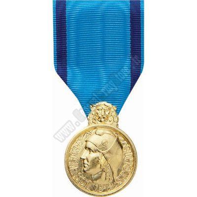 Médaillée de bronze de la jeunesse, des sports, de l'engagement associatif
