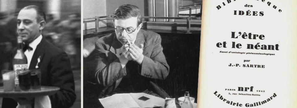 """La mauvaise foi du garçon de café - J.-P. Sartre, """"L'Etre et le Néant"""""""