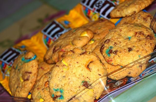 COOKIES MOELLEUX AUX MN&S