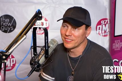 Tiësto interview with Mc Cabe for 97.1 AMP Radio - june 2018