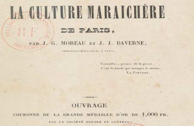 1. Le Manuel pratique de la culture maraichère de Paris 1845 par JG Moreau, JJ Daverne. A la recherche du réel : introduction