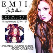 EMJI en showcase surprise au Jardin de la Charpenterie d' Orléans le samedi 14/09 à 16h - VIVRE AUTREMENT VOS LOISIRS avec Clodelle
