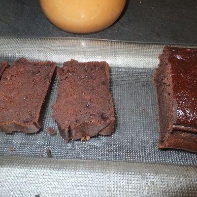 Fondant au chocolat sans beurre et presque sans sucre!