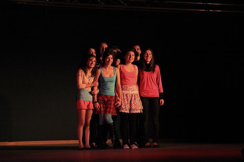 """Scène ouverte aux élèves de l'EMEA """"Les étapes de la vie"""" Vendredi 16 décembre 2011 à Muret."""