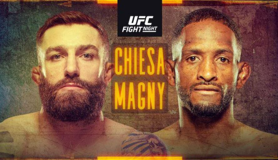 UFC Fight Night Michael Chiesa vs Niel Magny en direct ce mercredi sur RMC Sport !