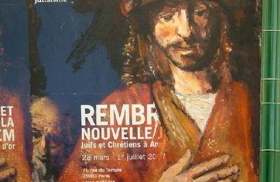 Réparation 4 (suite) Rembrandt et la nouvelle Jérusalem - au Musée d'art et d'histoire du judaïsme...