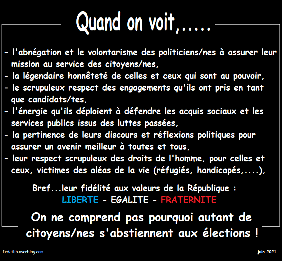 QUAND ON VOIT,......