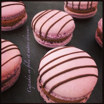 Macarons Choco-Figues Intenses