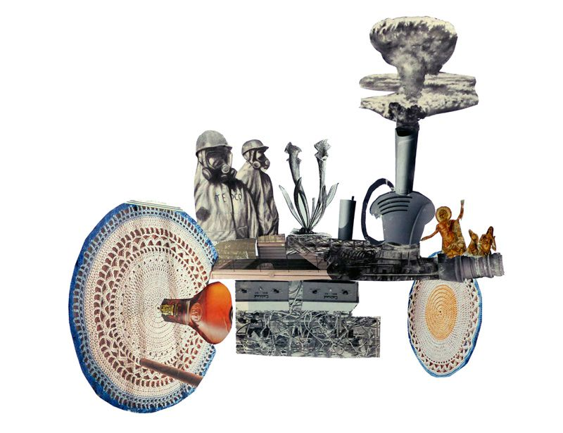 Chariot de l'Apocalypse (collage)