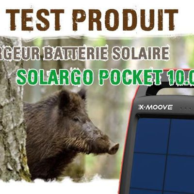 TEST CHARGEUR SOLAIRE SOLARGO 10.000