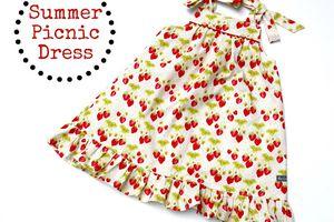 "Robe ""Summer Picnic Dress"""