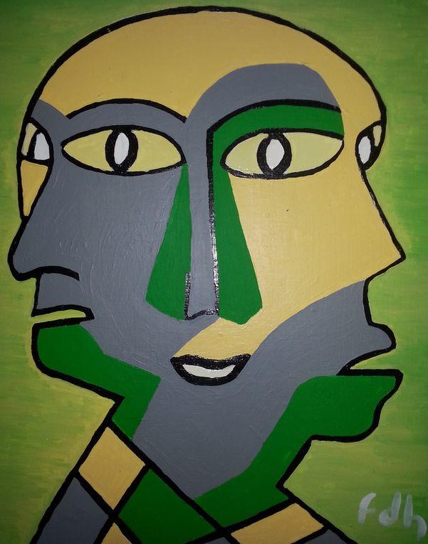 """3 artistes / 3 univers : Exposition """" Juste 3 """" du 10 au 17 février Villefranche de Lonchat 24610"""
