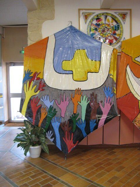 Projet pédagogique avec 180 enfants de l'école Ste Odile de Montpellier (partenariat OK Mistral, ART'Eole, FFVL, CDVL, Hérault sports)