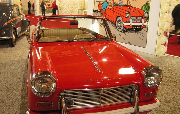 Tintin et les voitures: la Triumph Herald