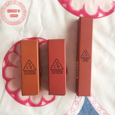 Review: 3CE Mood Recipe 2 Matte Lip Color and Velvet Lip Tint