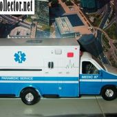 FORD F350 XL 1/36 TINS TOYS PARAMEDIC SERVICE & LOS ANGELES FIRE 911 - car-collector.net