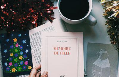 Mémoire de fille - Annie Ernaux