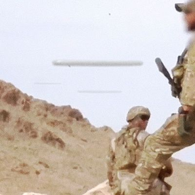 CIGAR SHAPED UFOs Caught On Camera by US Special Forces in NEVADA Desert (CGI) 👽