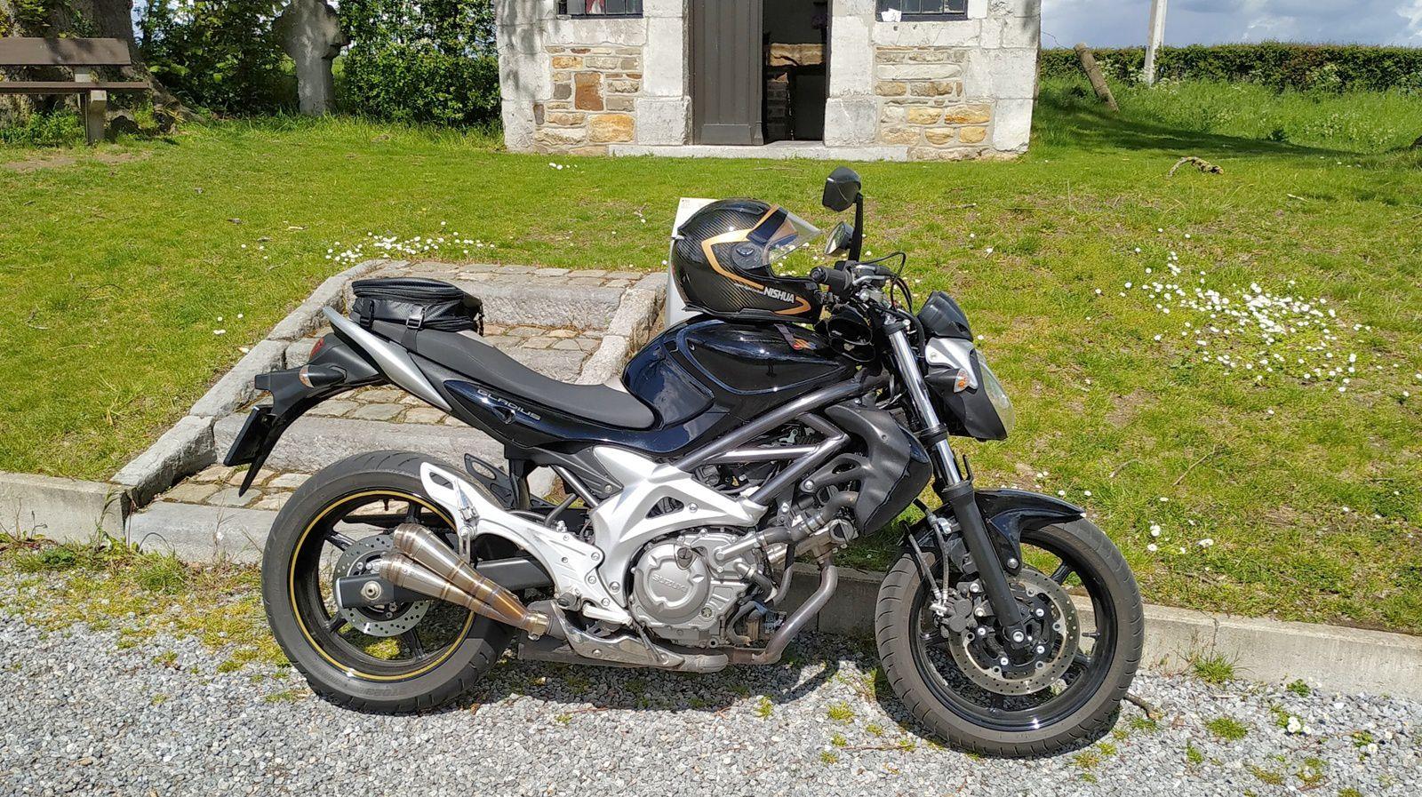 Janvier 2021 Moto : Bye bye Deauville, bienvenue Gladius.