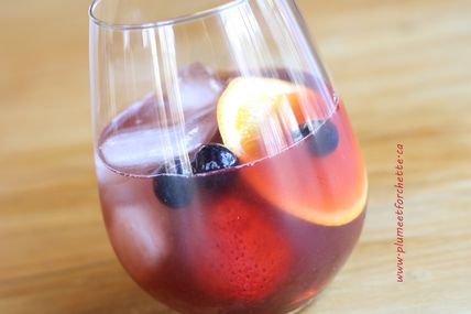"Sangria ""Touski"" de confinement"