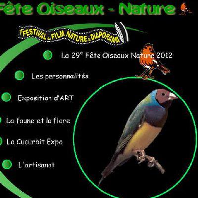 Fête des oiseaux et de la nature à Clion sur Seugne 2012