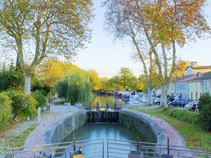 Canal du Midi à Gardouch en HDR