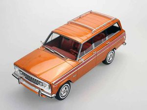 Le Jeep Grand Wagoneer de 1984 disponible à l'échelle 1:18