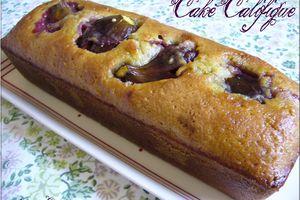 Cake califigue (figues et calissons à la figue)