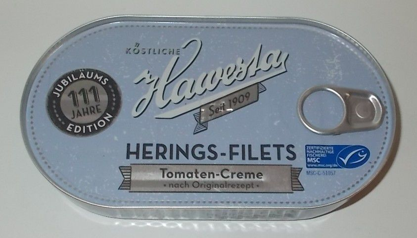Hawesta Herings-Filets Tomaten-Creme