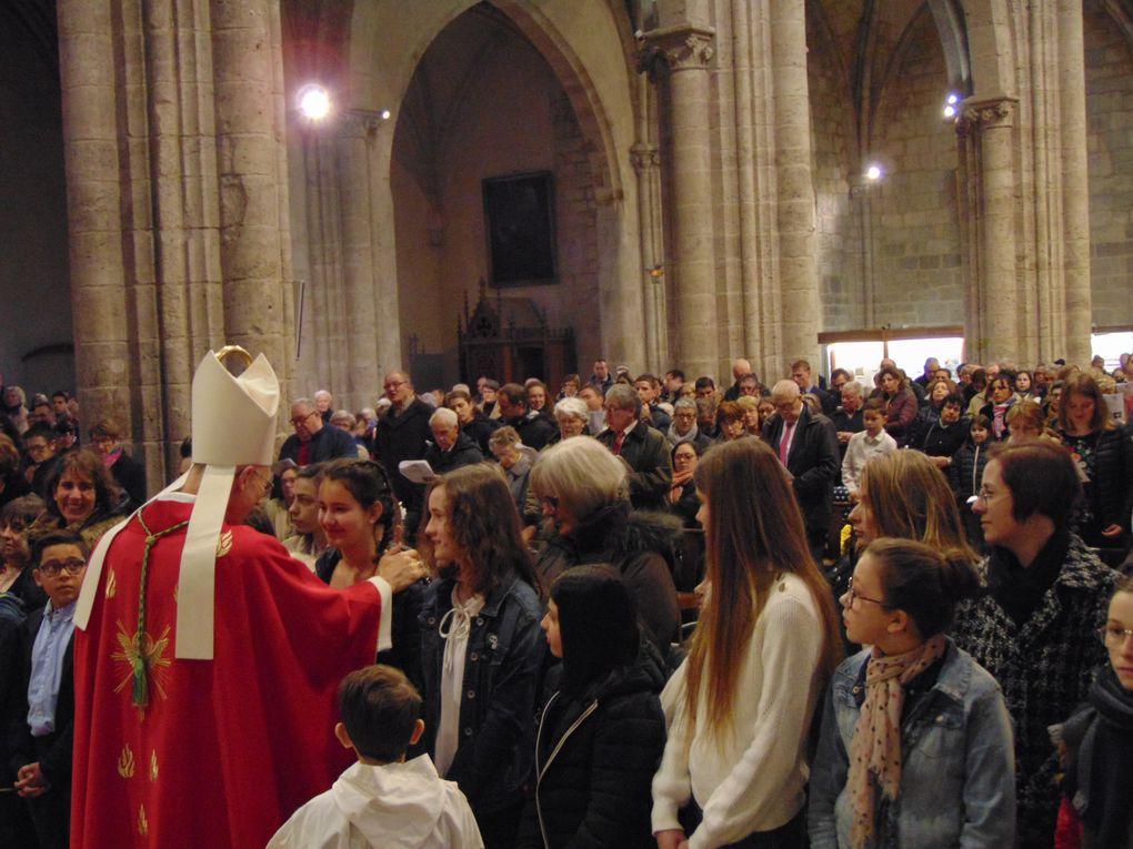 Confirmation à Notre Dame, dimanche 16 février 2020, avec Mg Sylvain BATAILLE