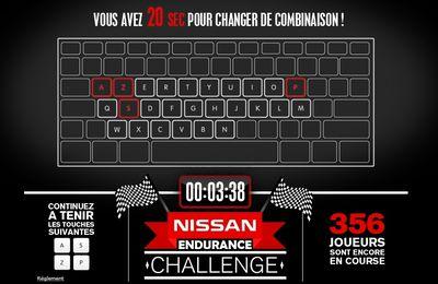 Gagnez des places pour les 24h du Mans en participant au NISSAN ENDURANCE CHALLENGE