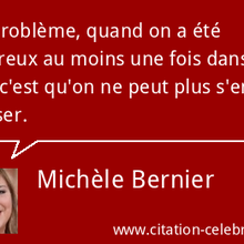 Le Top 20 des citations de Michèle Bernier