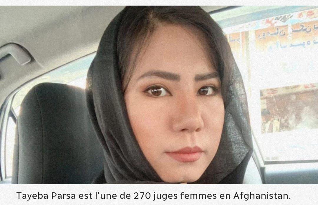 La Juge Tayeba Parsa sait qu'elle risque d'être assassinée par les Talibans.