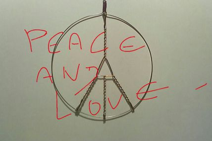 Muselet PEACE AND LOVE !