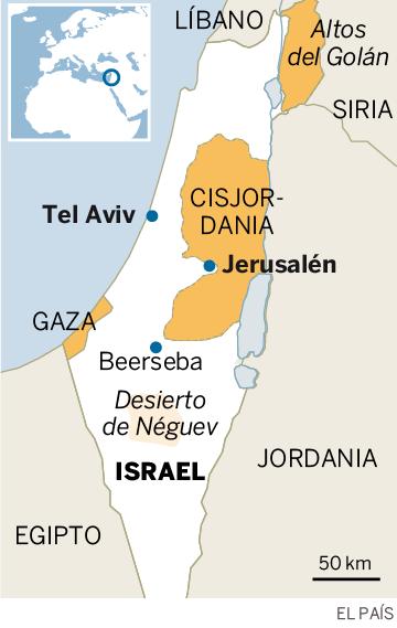 Imágenes del desierto del Néguev, en Israel.- El Muni.