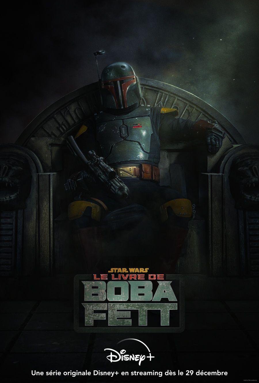 La série « Le Livre de Boba Fett » en exclusivité sur Disney+ dès le 29 décembre.