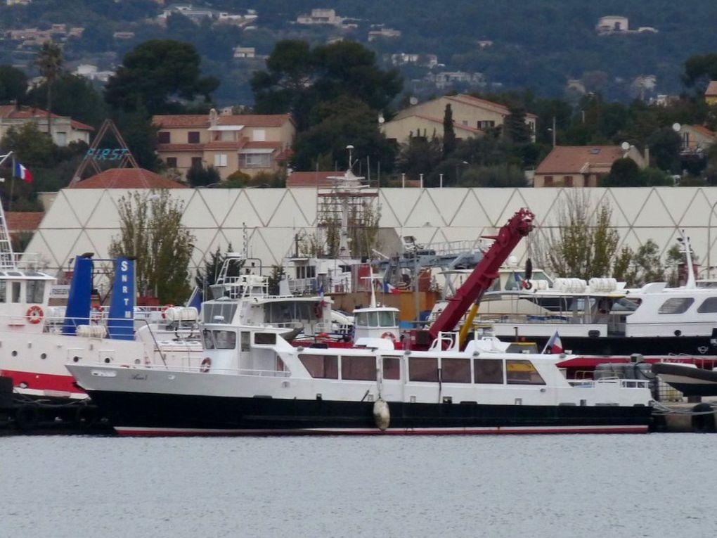 AZUR I , à quai à la Seyne sur Mer le 30Novembre 2013