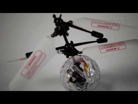 Une balle volante pour occuper ton chat ou tes enfants ...